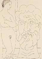 Modele Et Grande Tete Sculpte 1933  Limited Edition Print by Pablo Picasso - 0