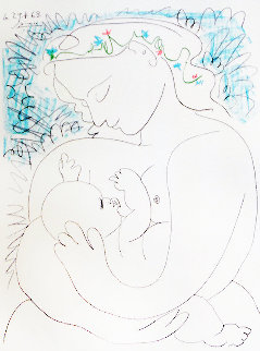 Maternity 1963 Limited Edition Print - Pablo Picasso