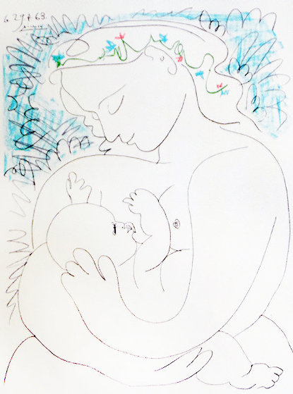 Maternity 1963 Limited Edition Print by Pablo Picasso