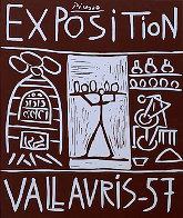 Exposition Vallauris AP 1957 Limited Edition Print by Pablo Picasso - 2