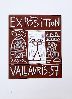 Exposition Vallauris AP 1957 Limited Edition Print by Pablo Picasso - 1