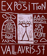 Exposition Vallauris AP 1957 Limited Edition Print by Pablo Picasso - 0