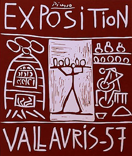 Exposition Vallauris AP 1957 Limited Edition Print - Pablo Picasso
