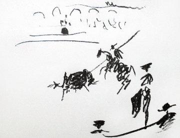 La Pique 1961 HS Limited Edition Print - Pablo Picasso
