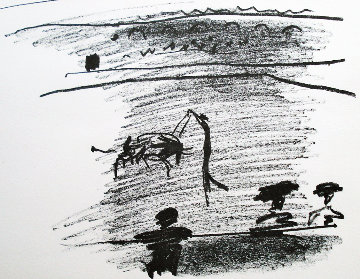 Les Banderilles 1961 Limited Edition Print - Pablo Picasso