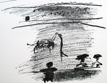 Les Banderilles 1961 HS  Limited Edition Print - Pablo Picasso