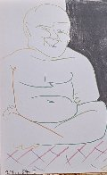 La Comedie Humaine 1954 Limited Edition Print by Pablo Picasso - 3
