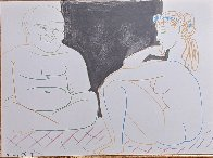 La Comedie Humaine 1954 Limited Edition Print by Pablo Picasso - 2
