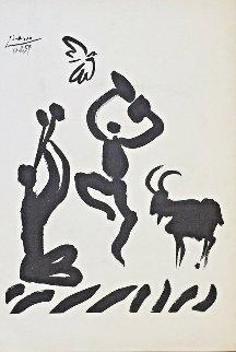 La Danse Du Berger 1959 Limited Edition Print - Pablo Picasso