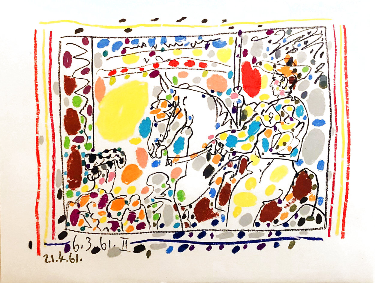 Le Picador 1961 Limited Edition Print by Pablo Picasso
