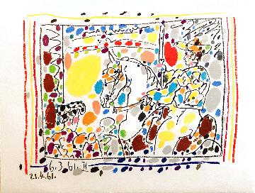 Le Picador 1961 Limited Edition Print - Pablo Picasso