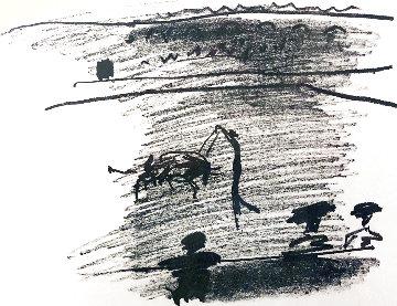 Les Banderilles 1967 Limited Edition Print - Pablo Picasso