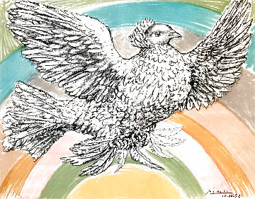 Colombe Volant 1952 Limited Edition Print - Pablo Picasso