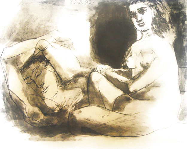 Le Couple 1967 Limited Edition Print by Pablo Picasso