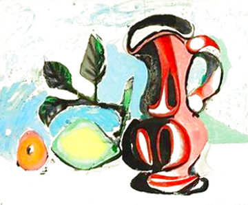 Nature Morte Au Citron Et Au Pichet Rouge 1955 HS Limited Edition Print - Pablo Picasso