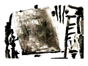 Peintre Et Modele Avec Une Grand Toile 1965 Limited Edition Print - Pablo Picasso