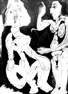 Deux Femmes Au Miroir 1965 Limited Edition Print - Pablo Picasso