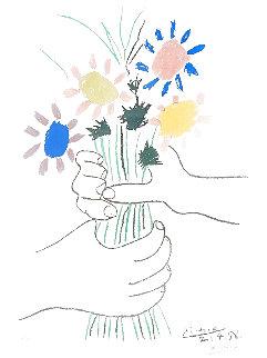 Bouquet De Fleurs 1958 Limited Edition Print - Pablo Picasso
