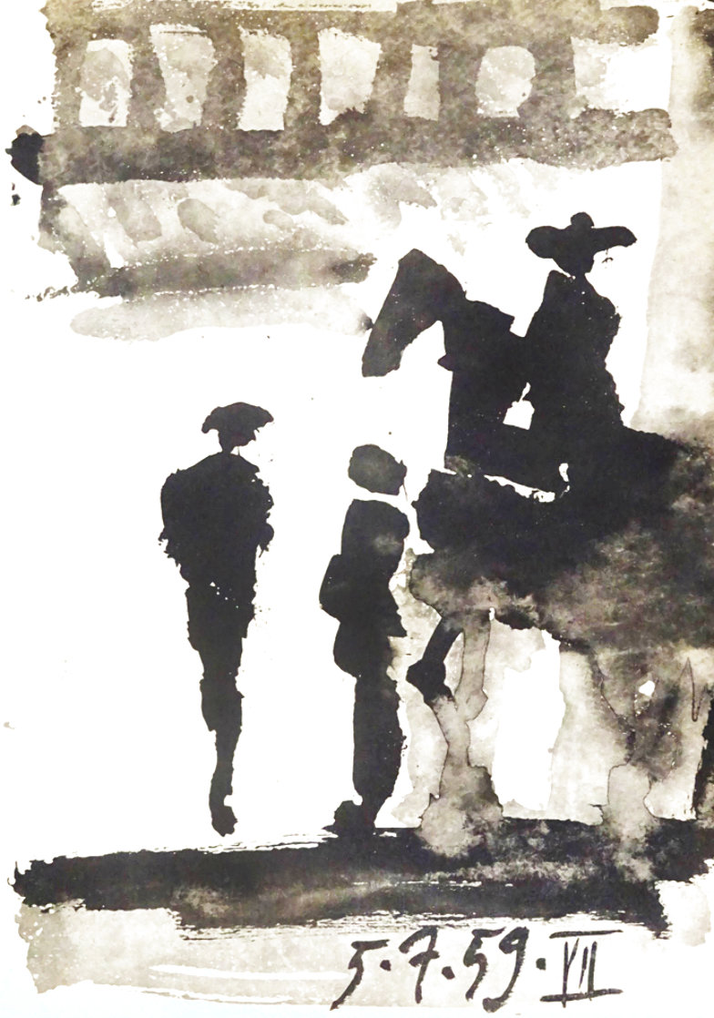 Toros Y Toreros Bullfighter 1959 Limited Edition Print by Pablo Picasso