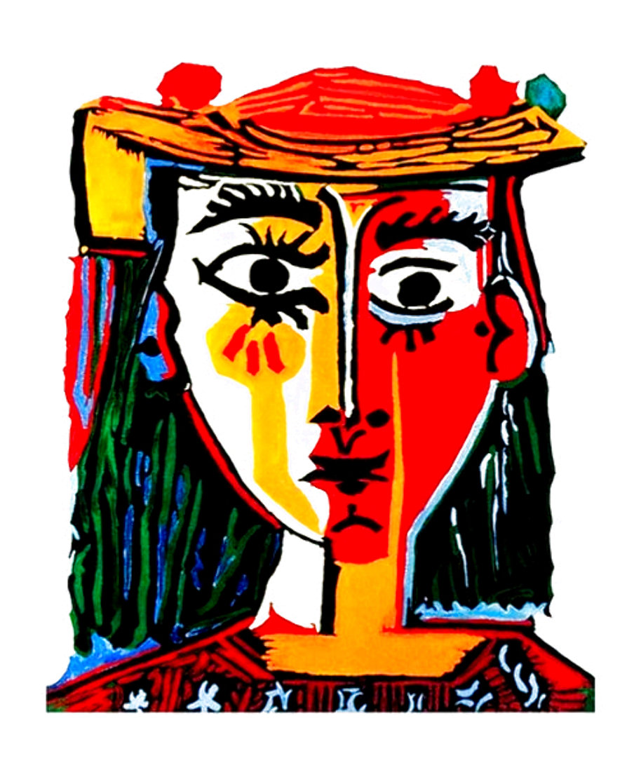 Bust of a Woman 1979 Limited Edition Print by Pablo Picasso