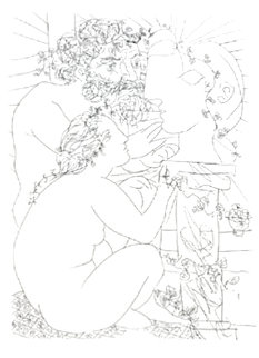 Untitled Lithograph 1956 Limited Edition Print - Pablo Picasso