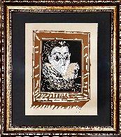 La Femme a La Fraise (Lady With a Ruff) 1979 Limited Edition Print by Pablo Picasso - 1