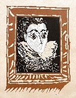 La Femme a La Fraise (Lady With a Ruff) 1979 Limited Edition Print by Pablo Picasso - 2