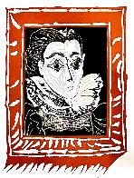 La Femme a La Fraise (Lady With a Ruff) 1979 Limited Edition Print by Pablo Picasso - 0