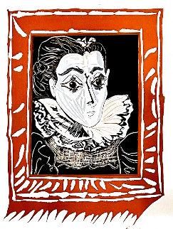 La Femme a La Fraise (Lady With a Ruff) 1979 Limited Edition Print - Pablo Picasso