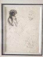 Sculpteur Et Modele Agenouille 1933 Limited Edition Print by Pablo Picasso - 1