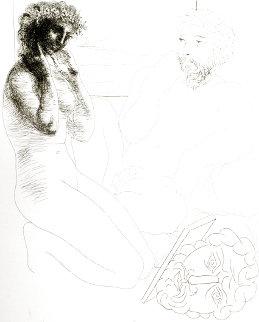Sculpteur Et Modele Agenouille 1933 Limited Edition Print - Pablo Picasso