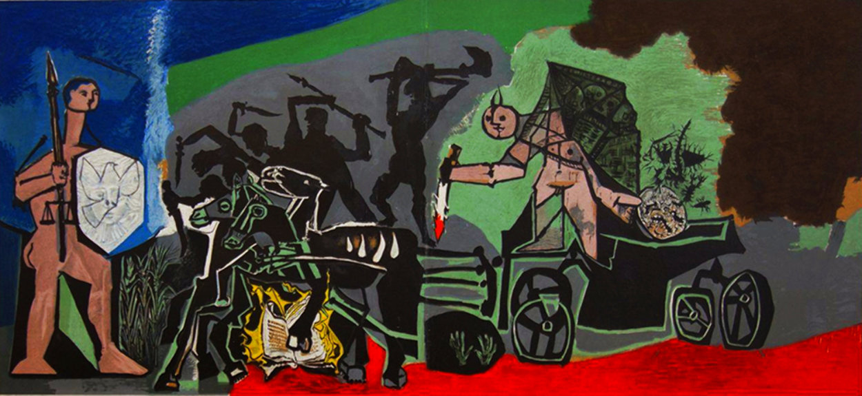 La Gierre - War 1954 Limited Edition Print by Pablo Picasso