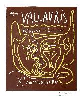 Vallauris, Peinture Et Lumiere, Xᵉ Anniversaire 1964 HS Limited Edition Print by Pablo Picasso - 2