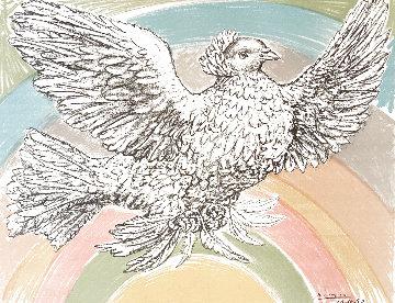 Le Columbe Volant (a L'arc-en-ciel)  1952 HS Limited Edition Print - Pablo Picasso