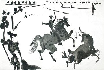 Alceando a Un Toro 1959 Limited Edition Print - Pablo Picasso