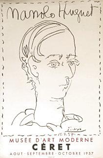 Manolo Hugnet, Affiche Pour Le Musee De Ceret 1957 (Early) Limited Edition Print - Pablo Picasso