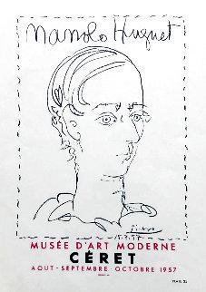 Manolo Hugnet 1959 Limited Edition Print - Pablo Picasso