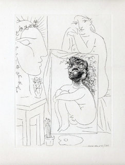 Modele, Tableau Et Sculpture, B 151 1933 Limited Edition Print by Pablo Picasso