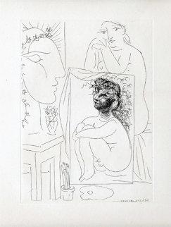 Modele, Tableau Et Sculpture, B 151 1933 Limited Edition Print - Pablo Picasso