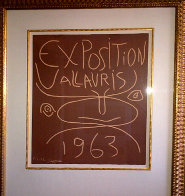 Exposition Vallauris - 1963 Limited Edition Print by Pablo Picasso - 1