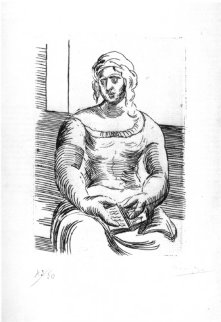 L'Italienne 1918 HS Limited Edition Print - Pablo Picasso