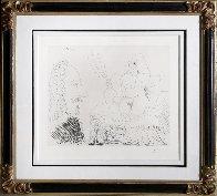 Courtisane Au Lit Avec Un Visiteur,  From the 347 Series (Bloch 1553) 1968 HS Limited Edition Print by Pablo Picasso - 1