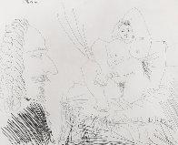 Courtisane Au Lit Avec Un Visiteur,  From the 347 Series (Bloch 1553) 1968 HS Limited Edition Print by Pablo Picasso - 0