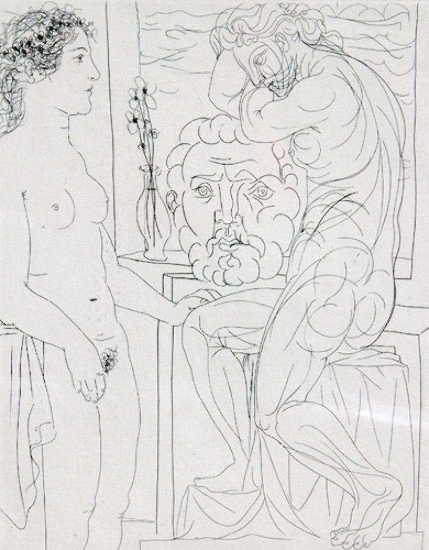 Modele nu et Sculptures Bloch 185  1933 HS Limited Edition Print by Pablo Picasso