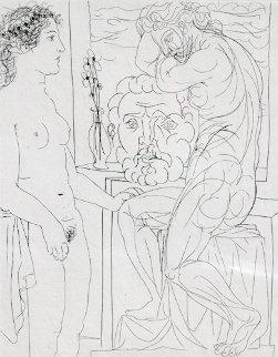 Modele nu et Sculptures Bloch 185  1933 Limited Edition Print - Pablo Picasso