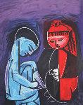 Deux Enfants Claude Et Paloma Limited Edition Print - Pablo Picasso