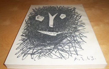 Picasso Lithographe IV Book With 2  Lithographs 1963 Limited Edition Print by Pablo Picasso
