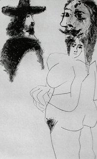 Beau Gentilhomme Espagnol Et Femme (B. 1743) 1968 Limited Edition Print by Pablo Picasso