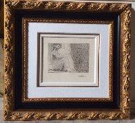 Minotaure Endormi Contemple Par Une Femme From the Vollard Suite 1933 Limited Edition Print by Pablo Picasso - 3