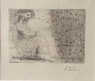 Minotaure Endormi Contemple Par Une Femme From the Vollard Suite 1933 Limited Edition Print by Pablo Picasso - 1